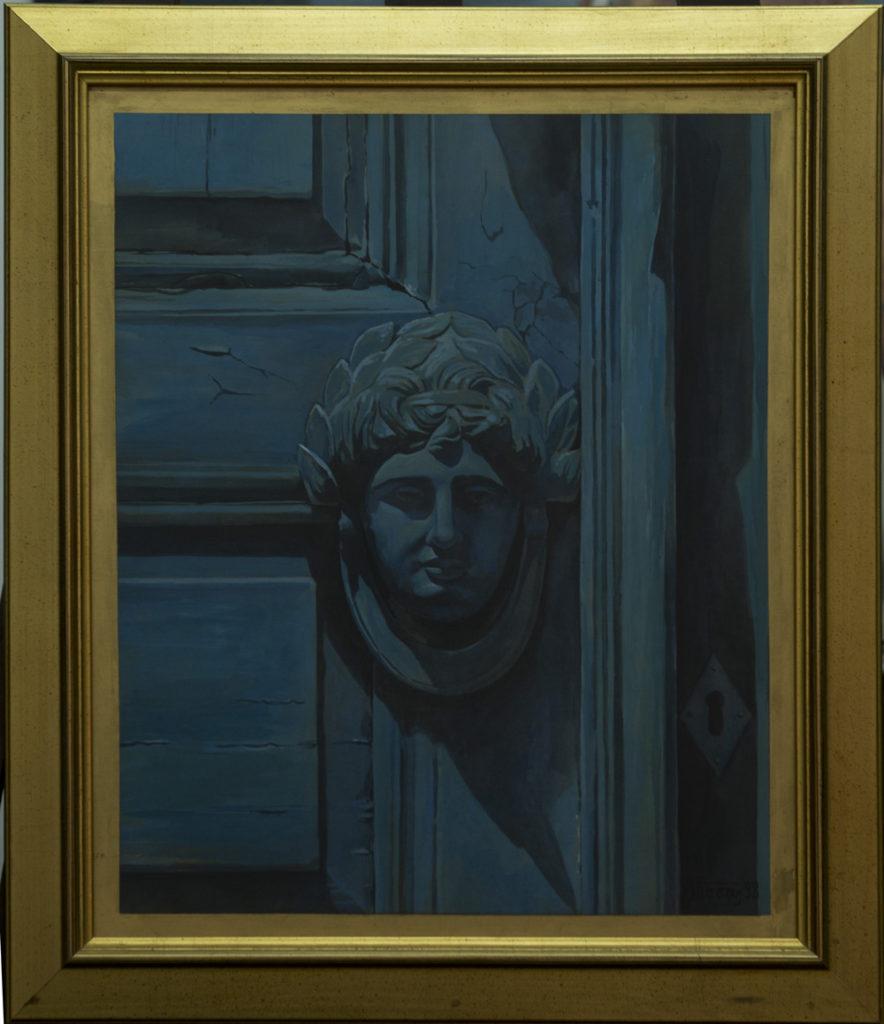 Διαστάσεις: 42 x 53 cm Υδατογραφία σε ξύλο Έτος: 1998 Οι εικόνες ενδέχεται να υπόκεινται σε πνευματικά δικαιώματα